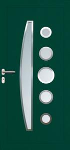 Panneau décor N°30 6C insert inox
