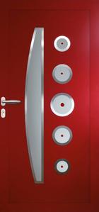 Panneau décor N°30 6C insert inox/cabochons
